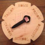 DIY Weasley Clock 2