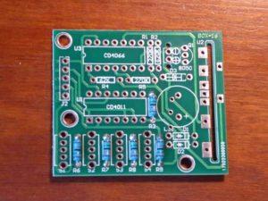 150k Resistors Soldered To PCB