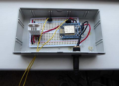 ESP8266 Monitor