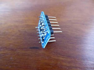 header pins soldered