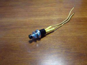 Switch, Wires & Heatshrink