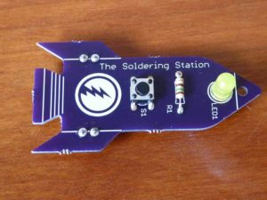 Learn To Solder Kit Done