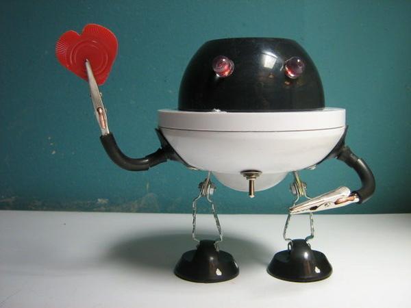 Valentine Robo Grinch