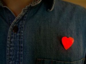 Wearable Glowing 3d Heart