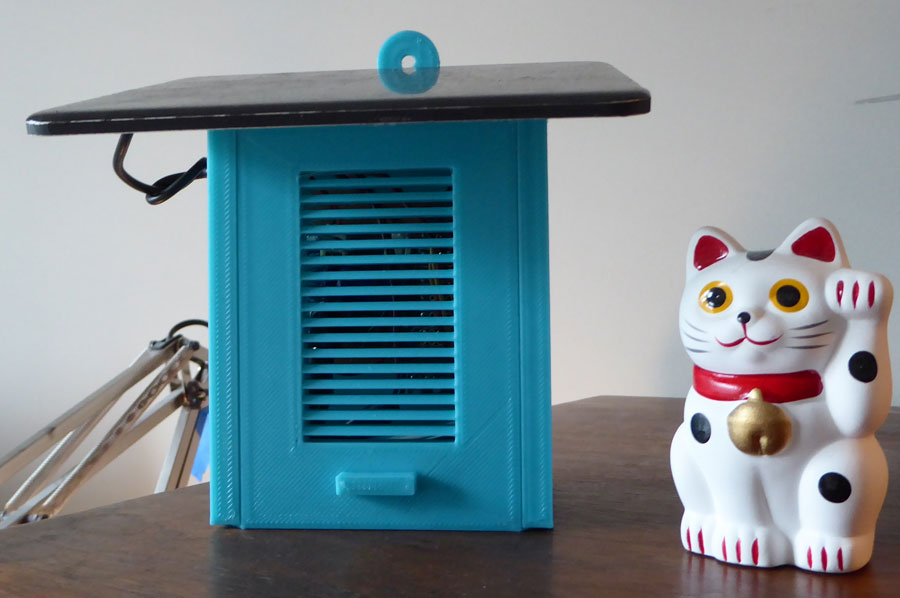 Weather Station & Cat