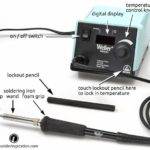 Weller WESD51 Soldering Station Anatomy
