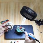LED And Smoke Absorber