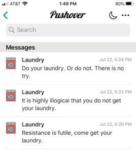 Pushover App